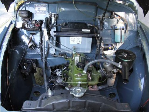 1955 Morris Minor Splitscreen - 1 owner and 3k miles in 40 years SOLD (picture 6 of 6)