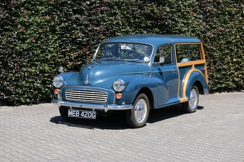 1969 Morris Minor Traveller 1100 SOLD (picture 1 of 5)