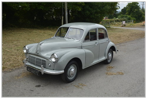 1954 Morris Minor split screen for sale SOLD (picture 3 of 6)