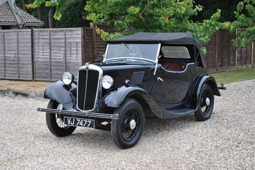 Morris 8 / Eight Two Seat Tourer 1936 Vintage Car SOLD (picture 1 of 6)