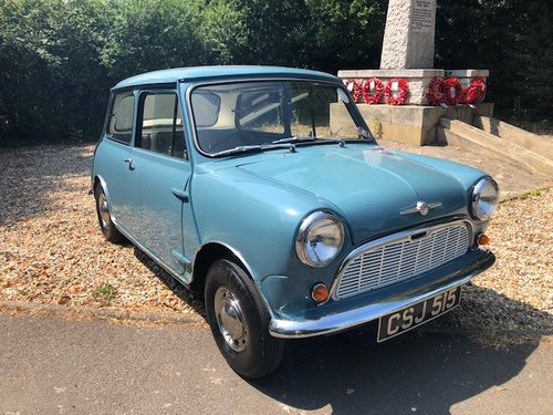 Morris Mini Saloon 1960 amazing condition ready to enjoy For Sale (picture 1 of 6)