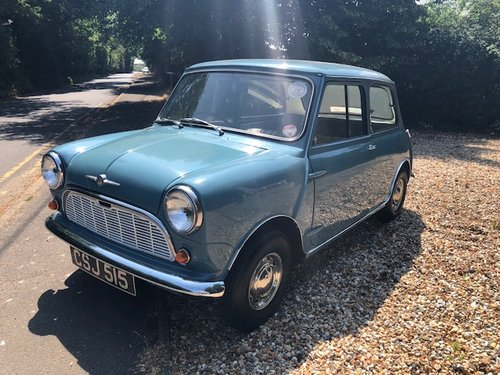 Morris Mini Saloon 1960 amazing condition ready to enjoy For Sale (picture 2 of 6)