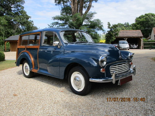 1969 Morris Minor Traveller (Card Payments Accepted) SOLD (picture 1 of 6)