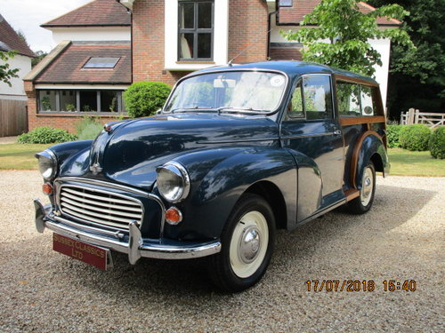 1969 Morris Minor Traveller (Card Payments Accepted) SOLD (picture 2 of 6)