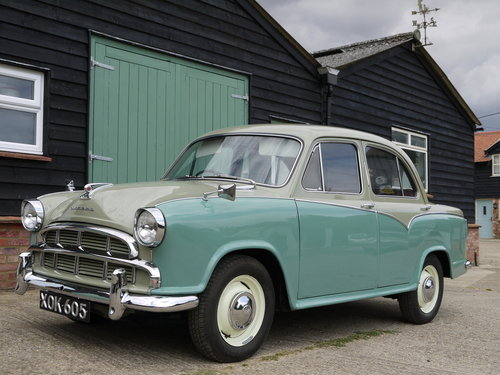 1958 MORRIS OXFORD SERIES 3 - OUTSTANDING, RESTORED & UPGRADED !! SOLD (picture 2 of 6)