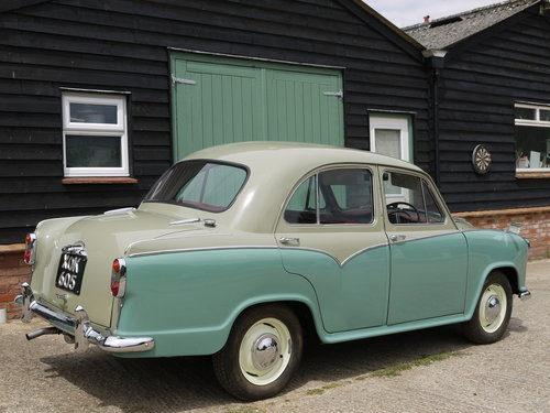 1958 MORRIS OXFORD SERIES 3 - OUTSTANDING, RESTORED & UPGRADED !! SOLD (picture 3 of 6)