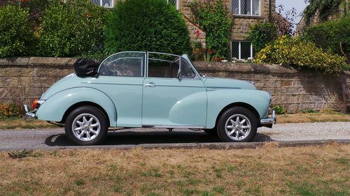 1969 Morris Minor 1000 Convertible SOLD (picture 3 of 6)
