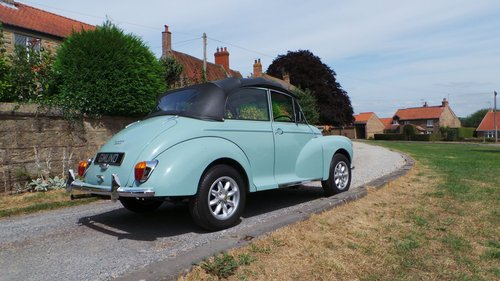1969 Morris Minor 1000 Convertible SOLD (picture 4 of 6)