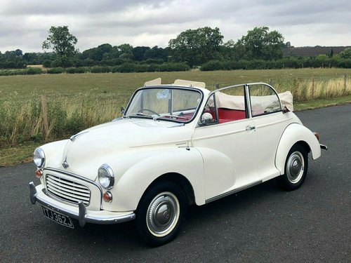 1970 Morris Minor Convertible 1098cc SOLD (picture 1 of 6)