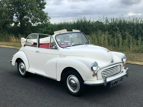 1970 Morris Minor Convertible 1098cc SOLD (picture 3 of 6)