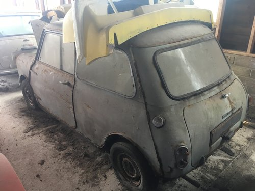 1963 Morris Mini-Minor Mk1Restoration project For Sale (picture 4 of 6)