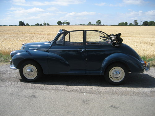 1957 Morris 1000 Convertible SOLD (picture 6 of 6)