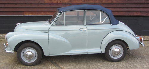 1968 Morris Minor Convertible  SOLD (picture 1 of 6)