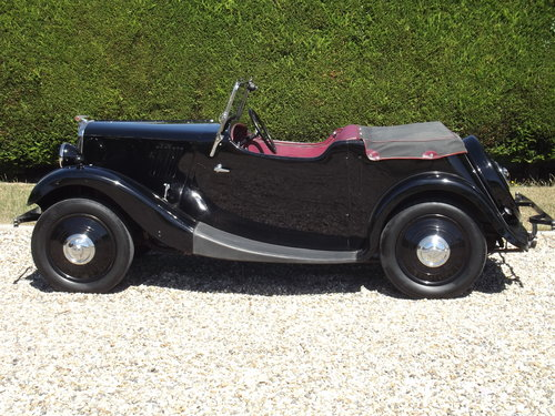 1936 Morris 8 Tourer, Series One, Two Seater in superb order. SOLD (picture 1 of 6)