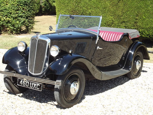 1936 Morris 8 Tourer, Series One, Two Seater in superb order. SOLD (picture 2 of 6)