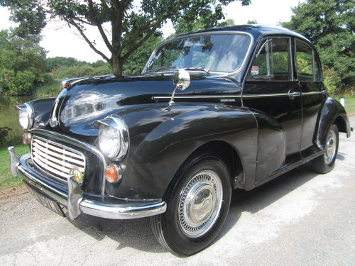 1957 MORRIS MINOR 'PHYLLIS' SALOON ~ MOT 8/2019 ~ INVESTMENT SOLD (picture 1 of 6)