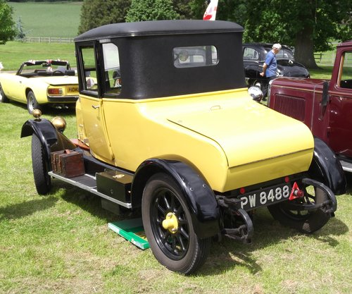 1926 Morris Cowley Bullnose Fixed Head Coupe SOLD