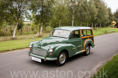 1970 Morris 1000 Traveller Concours winning SOLD by Auction (picture 1 of 6)