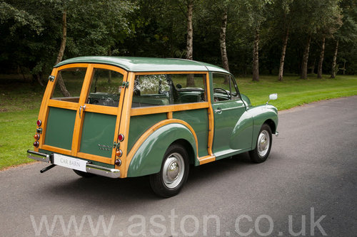 1970 Morris 1000 Traveller Concours winning SOLD by Auction (picture 2 of 6)