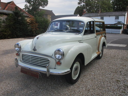 1969 Morris Minor 1000 Traveller (Fully Restored) SOLD (picture 2 of 6)