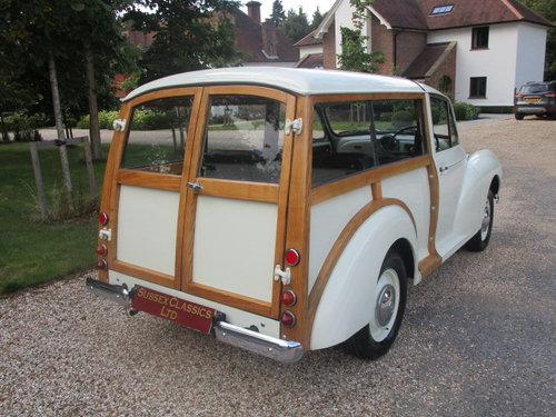 1969 Morris Minor 1000 Traveller (Fully Restored) SOLD (picture 3 of 6)