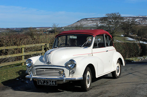 1960 Morris Minor Hire   self-drive Morris Minor in Yorkshire For Hire (picture 1 of 3)