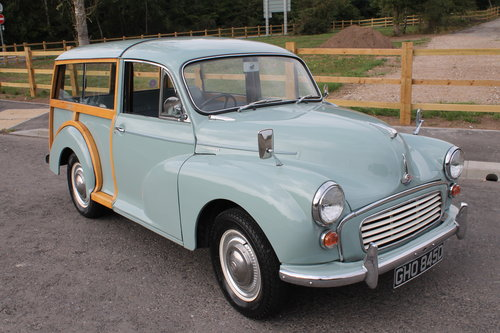 1966 Morris Minor Traveler 1098 cc 38,422 claimed correct  SOLD (picture 1 of 6)