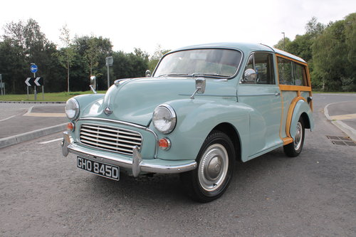 1966 Morris Minor Traveler 1098 cc 38,422 claimed correct  SOLD (picture 2 of 6)