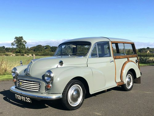 1965 Morris Minor Traveller DeLuxe1098cc SOLD (picture 1 of 6)