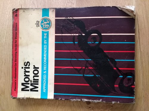 1963 Car servicing manual for Morris Minor For Sale (picture 1 of 2)