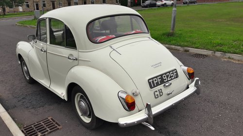 1968 MORRIS MINOR 1000 SOLD (picture 3 of 6)