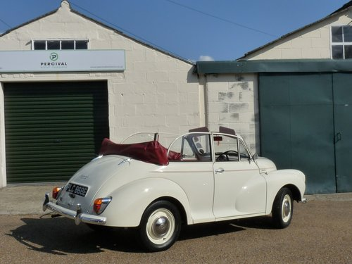 1967 Morris Minor Convertible, restored SOLD (picture 2 of 6)