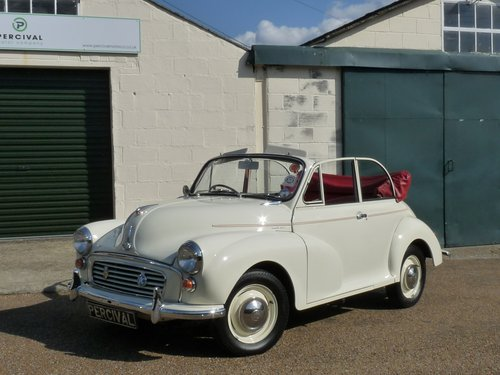 1967 Morris Minor Convertible, restored SOLD (picture 5 of 6)