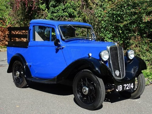 1935 Morris Eight 0.9 FULLY RESTORED AND LOVELY For Sale (picture 1 of 6)