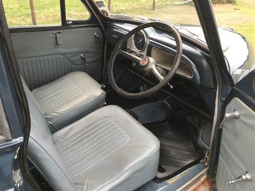 Morris Minor 1000 Genuine Convertible 1968 Original Colour  For Sale (picture 3 of 6)