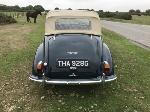 Morris Minor 1000 Genuine Convertible 1968 Original Colour  For Sale (picture 5 of 6)