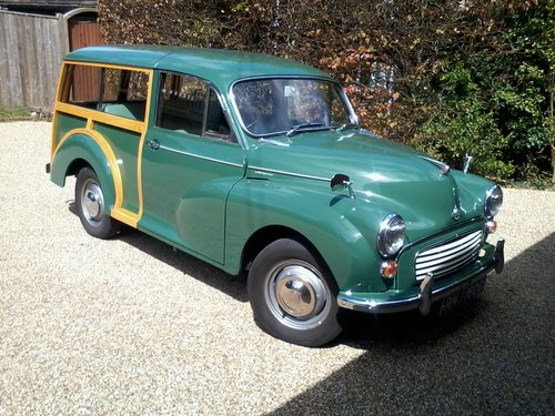 1968 Morris Minor 1000 Traveller - genuine  38,500 miles SOLD (picture 1 of 5)