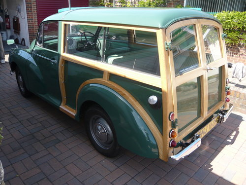 1968 Morris Minor 1000 Traveller - genuine  38,500 miles SOLD (picture 5 of 5)