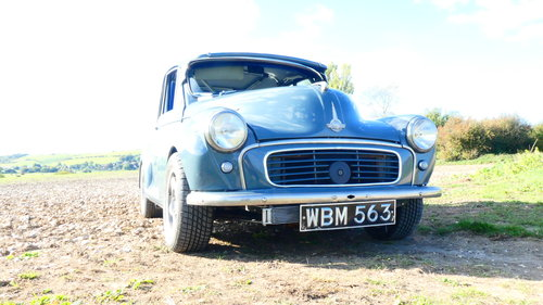 1958 Morris Minor Supercharged Hillclimb car  For Sale (picture 2 of 6)