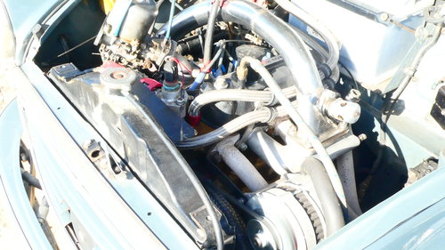 1958 Morris Minor Supercharged Hillclimb car  For Sale (picture 3 of 6)