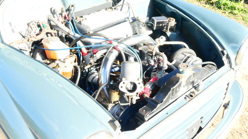 1958 Morris Minor Supercharged Hillclimb car  For Sale (picture 5 of 6)