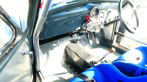 1958 Morris Minor Supercharged Hillclimb car  For Sale (picture 6 of 6)
