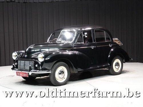 1952 Morris Minor MM Four-door Saloon '52 For Sale (picture 1 of 6)