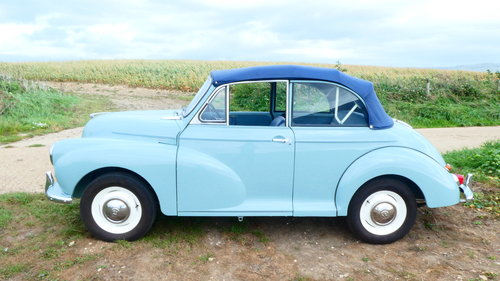 1962 Morris Minor Convertible Fully Restored  SOLD (picture 1 of 6)