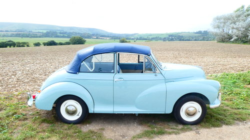 1962 Morris Minor Convertible Fully Restored  SOLD (picture 2 of 6)