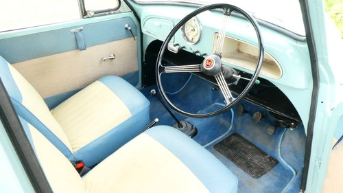 1962 Morris Minor Convertible Fully Restored  SOLD (picture 6 of 6)