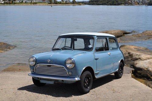 1963 Morris Mini Cooper 997cc Survivor  SOLD (picture 2 of 6)