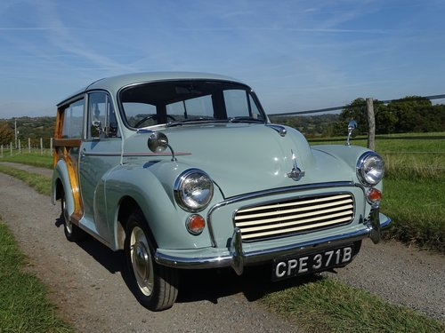 Beautiful 1964 Morris Minor Traveller,low mileage and owners SOLD (picture 1 of 6)