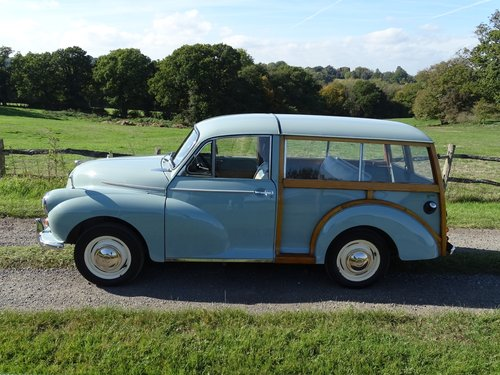 Beautiful 1964 Morris Minor Traveller,low mileage and owners SOLD (picture 2 of 6)