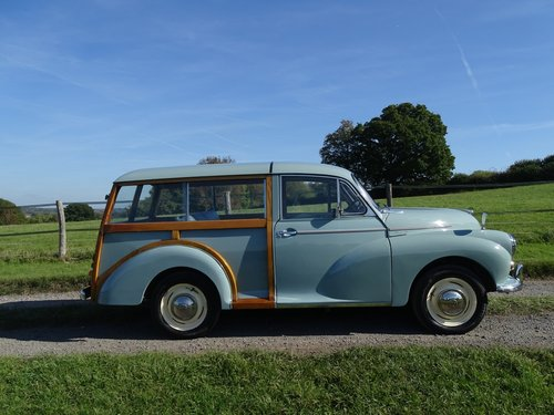 Beautiful 1964 Morris Minor Traveller,low mileage and owners SOLD (picture 3 of 6)